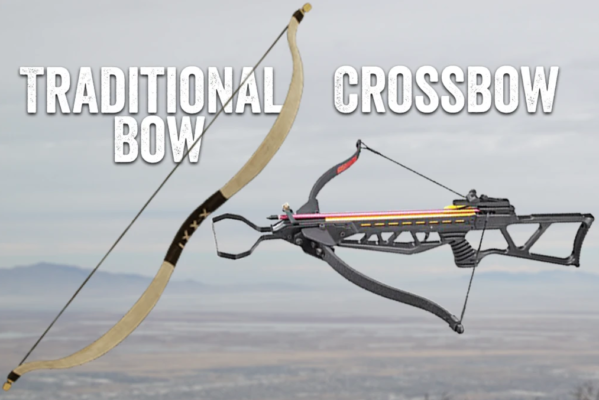 medieval bow vs crossbow