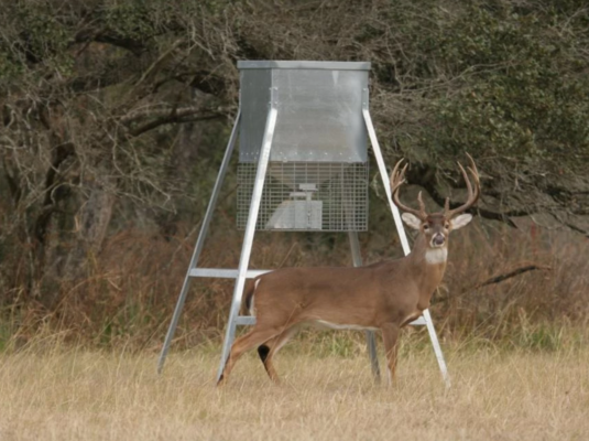 Moultrie All-In-One Deer Feeder Timer Kit Adjustable Mount Innovations EASY USE